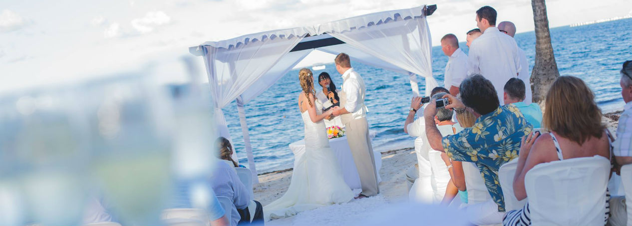 Plan your wedding in paradise
